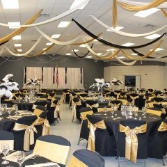 Gold Black Venue